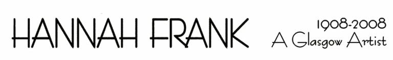 Hannah Frank Art Logo